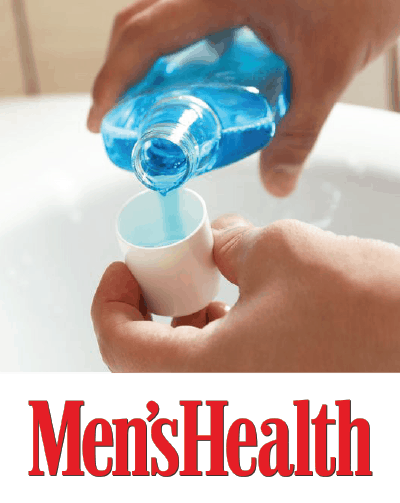 Men's Health feature of Dr. Dustin Cohen
